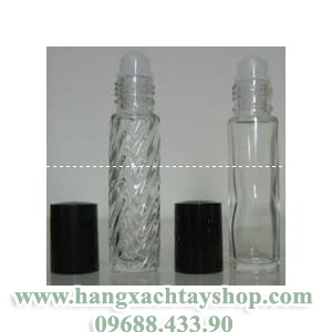 2-roll-on-refillable-glass-perfume-bottle-purse-or-travel-size-plain-swirl-1-3oz-33-fl-oz-10ml-hangxachtayshop