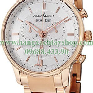 1Alexander-A101B-04-Statesman-Chieftain-Multi-function-Chronograph-Silver-Swiss-hangxachtayshop