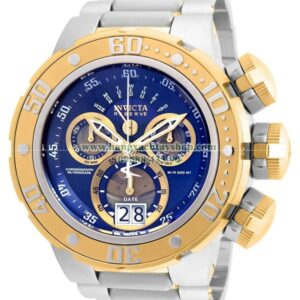 21605 Invicta Reserve Silver and Gold Quartz with Stainless-Steel Strap-hangxachtayshop