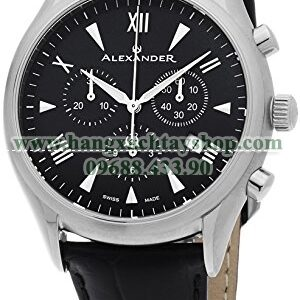 Alexander A021-01 Heroic Pella Multi-function Chronograph Black Dial Swiss-hangxachtayshop