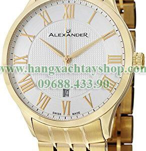 Alexander-A103B-03-Statesman-Triumph-Silver-Dial-Yellow-Gold-Swiss-hangxachtayshop