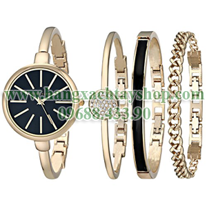 Anne-Klein-AK-1470GBST-Gold-Tone-Watch-and-Bracelet-Set-hangxachtayshop