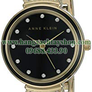 Anne-Klein-AK-2216BKGB-Swarovski-Crystal-Accented-Gold-Tone-and-Black-Bangle-Watch-hangxachtayshop