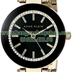 Anne-Klein-AK1906BKGB-Swarovski-Crystal-Accented-Watch-with-Gold-Tone-Mesh-Bracelet-hangxachtayshop