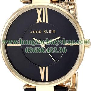 Anne-Klein-AK3532BKZE-Gold-Tone-and-Black-Zebra-Patterned-Bangle-hangxachtayshop