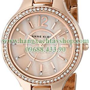 Anne-Klein-Women's-AK1854RMRG-Swarovski-Crystal-Accented-Rose-Gold-Tone-Bracelet-Watch-hangxachtayshop