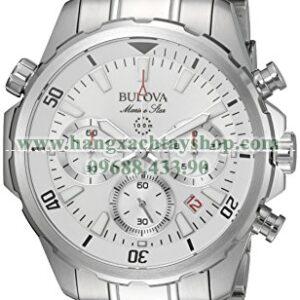 Bulova 96B255 Silvertone Watch-hangxachtayshop
