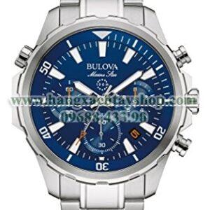 Bulova 96B256 Silvertone Watch-hangxachtayshop