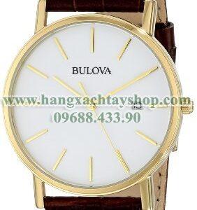 Bulova 97B100 Strap White Dial-hangxachtayshop