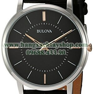 Bulova 98A167 Quartz Stainless Steel and Leather Casual Watch-hangxachtayshop
