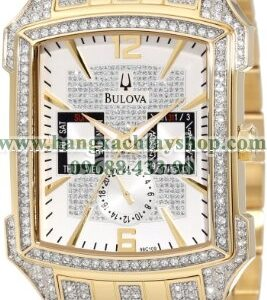 Bulova 98C109 Crystal Striking Visual Design Watch-hangxachtayshop