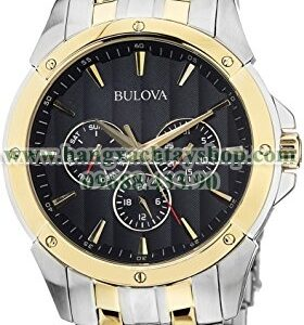 Bulova 98C120 Two Tone Multifunction Watch-hangxachtayshop
