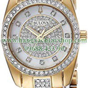 Bulova-98L241-'Swarovski-Crystal'-Quartz-Stainless-Steel-Casual-Watch-hangxachtayshop