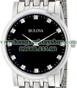 Bulova Nam 96D106 Diamond Black Dial Bracelet-hangxachtayshop