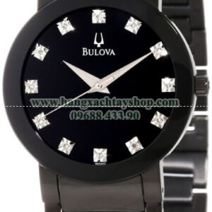 Bulova Nam 98D001 Diamond Accented Stainless Steel Bracelet Watch-hangxachtayshop