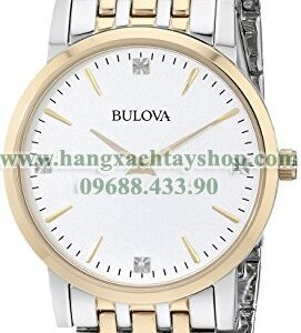 Bulova Nam 98D114 Diamond Dial Watch-hangxachtayshop