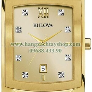 Bulova Quartz Stainless Steel Dress 97D107-hangxachtayshop