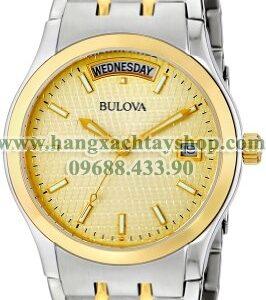 Bulova nam 98C60 Two-Tone Bracelet Watch-hangxachtayshop
