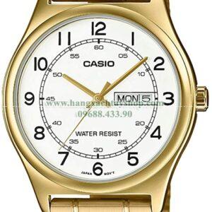 Casio MTP-V006G-7B Gold Tone Stainless Steel-hangxachtayshop