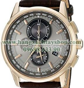 Citizen AT8113-04H Eco-Drive World Chrono Atomic Timekeeping-hangxachtayshop