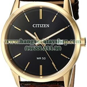 Citizen BI5002-06E Quartz Stainless Steel and Leather Casual-hangxachtayshop