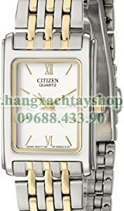 Citizen EJ5854-56A Two-Tone Stainless Steel Watch with White Dial-hangxachtayshop