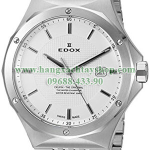 Edox-53005-3M-AIN-Delfin-Analog-Display-Swiss-Quartz-Silver-Watch-hangxachtayshop