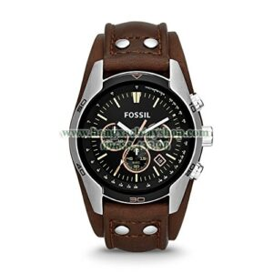 Fossil CH2891 Coachman Chronograph Brown Leather Watch-hangxachtayshop