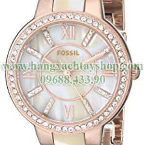 Fossil-ES3716-Virginia-Three-Hand-Stainless-Steel--hangxachtayshop