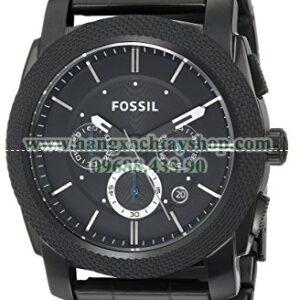 Fossil FS4552 Black Stainless Steel Bracelet Black Analog Dial Chronograph-hangxachtayshop