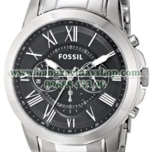 Fossil FS4736 Grant Stainless Steel Watch-hangxachtayshop