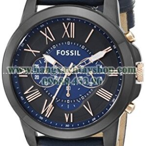 Fossil FS5061 Grant Black Stainless Steel-hangxachtayshop
