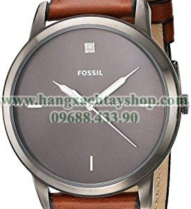Fossil FS5479 Quartz Stainless Steel and Leather-hangxachtayshop