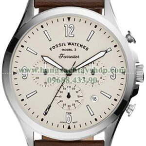 Fossil Forrester Chronograph Leather-hangxachtayshop