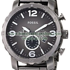Fossil JR1437 Nate Chronograph Smoke Stainless Steel-hangxachtayshop
