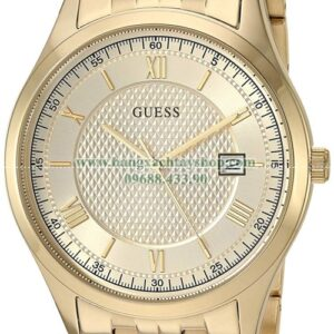 GUESS Classic Stainless Steel Gold-Tone Bracelet Color Gold-Tone U1218G4-hangxachtayshop