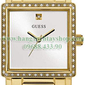 GUESS-Factory-U0914L2M-710-Gold-Tone-Square-Analog-Wrist-Bracelet-Watch-hangxachtayshop