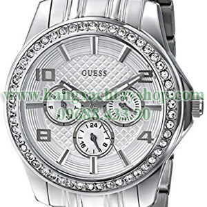 GUESS-U0147L1-Polished-Glamour-Silver-Tone-Crystal-hangxachtayshop