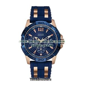 GUESS U0366G4 Iconic Blue Multi-Function Stainless Steel Sport-hangxachtayshop