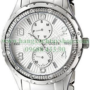 GUESS-U0442L1-Mid-Size-Silver-Tone-Multi-Function-hangxachtayshop