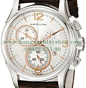 Hamilton H32612555 Jazzmaster Chronograph Silver Dial Watch-hangxachtayshop