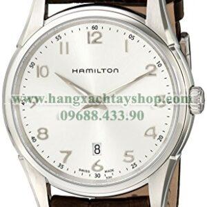 Hamilton H38511553 Jazzmaster Thinline Silver Dial Watch-hangxachtayshop