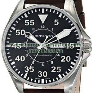 Hamilton H64715535 Khaki Pilot Black Dial Watch-hangxachtayshop