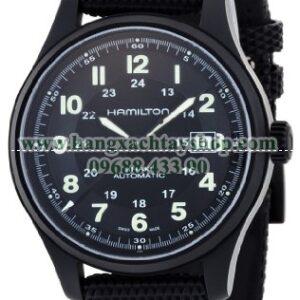 Hamilton HML-H70575733 Khaki Field Black Dial Watch-hangxachtayshop
