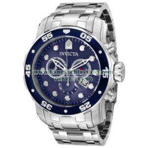 Invicta 0070 Pro Diver Collection Stainless Steel and Blue Dial-hangxachtayshop