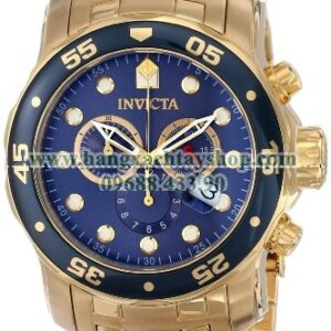 Invicta 0073 Pro Diver Collection Chronograph 18k Gold-Plated-hangxachtayshop