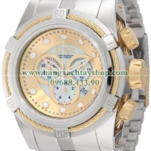 Invicta 0822 Reserve Chronograph Mother of Pearl Dial Stainless Steel-hangxachtayshop