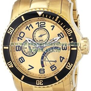Invicta 15343 Pro Diver Analog Display Japanese Quartz Gold-hangxachtayshop