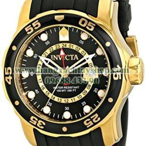 Invicta 6991 Pro Diver Collection GMT Black Dial Black Polyurethane-hangxachtayshop