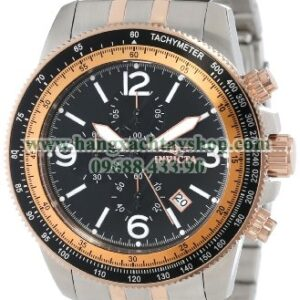 Invicta Nam 13965 Specialty Chronograph Black Dial Two Tone Stainless Steel-hangxachtayshop